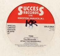 TIME / THE WAY I FEEL. Artist: The Minstrels  Star The Marshall  Bob Andy. Label: Success